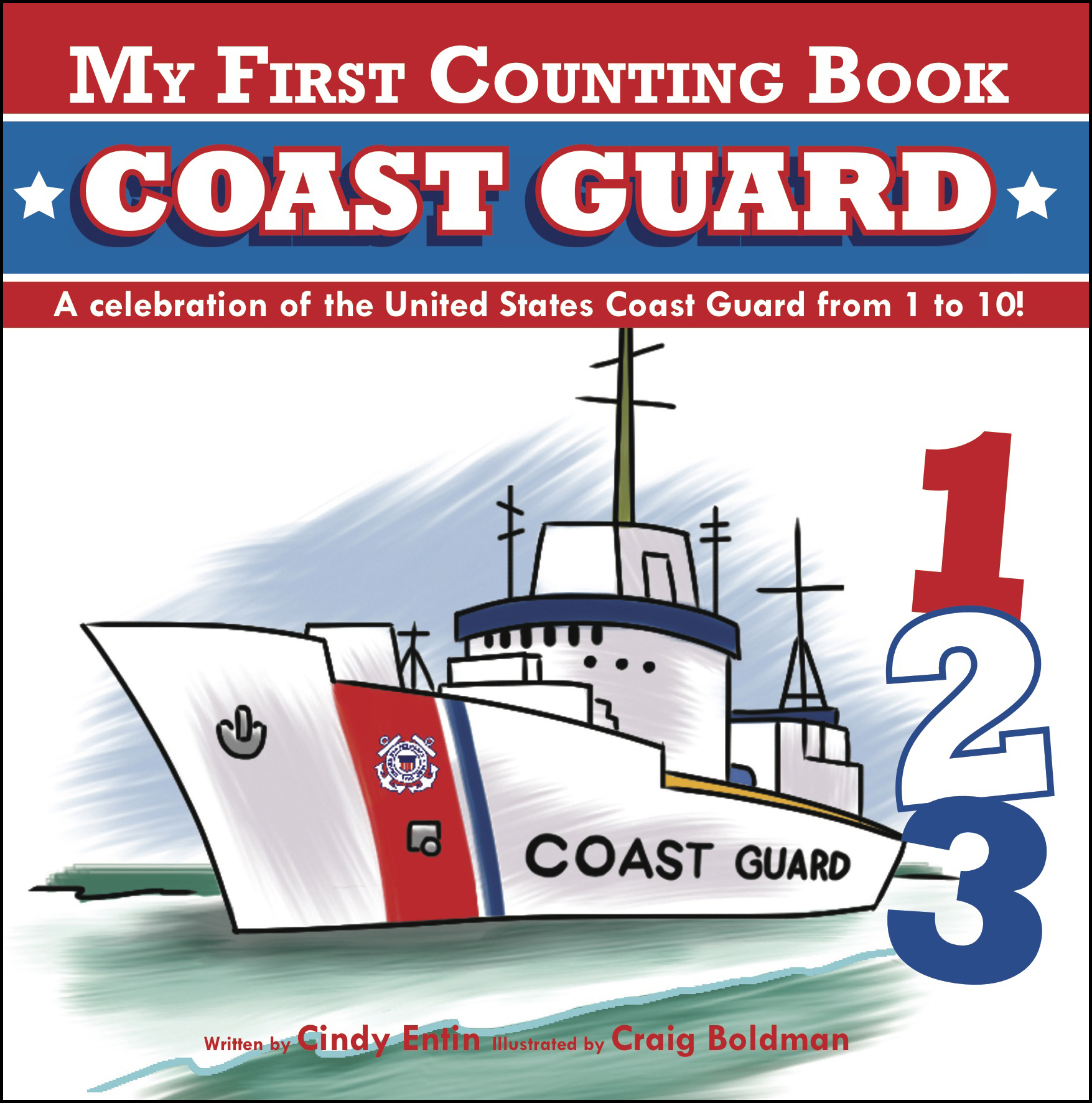 My first counting book coast guard 9781604334609 hr