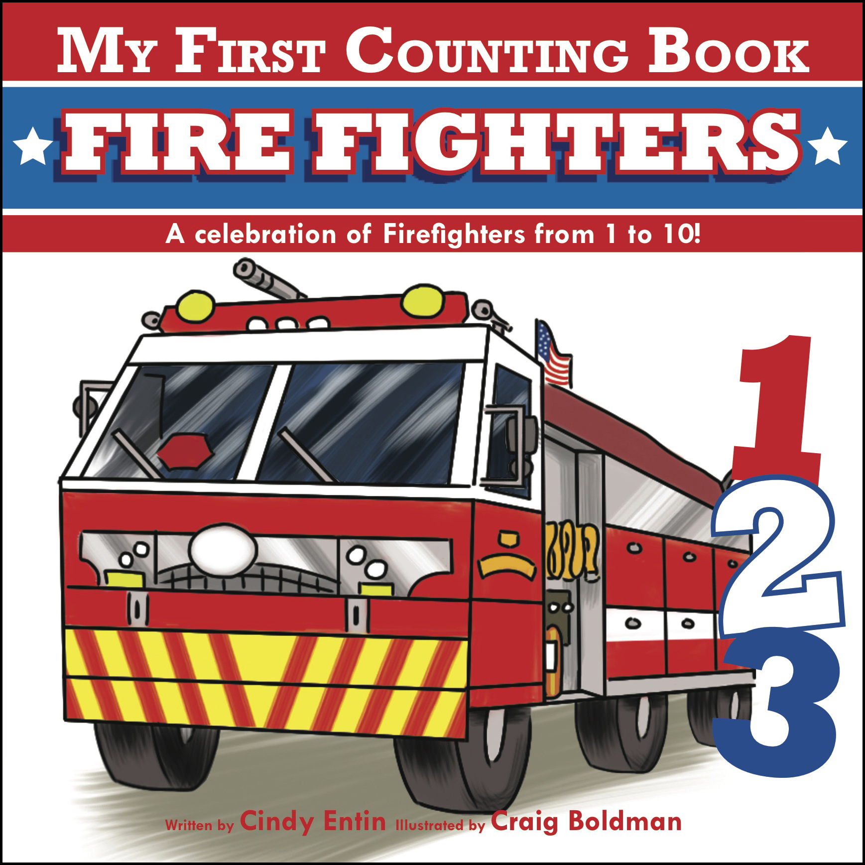 My first counting book firefighters 9781604334708 hr