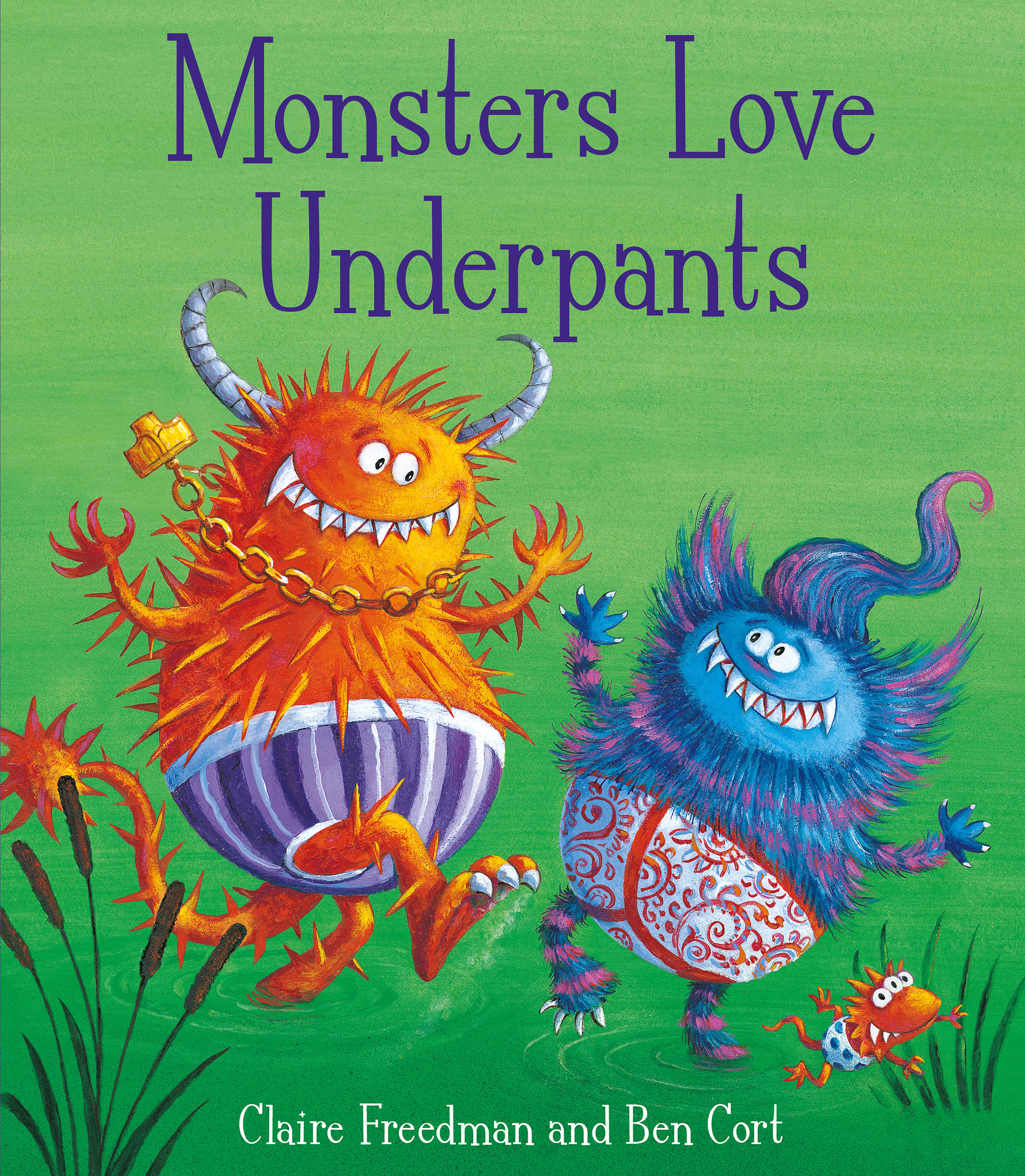 Monsters love underpants book by claire freedman ben cort book cover image jpg monsters love underpants fandeluxe Image collections