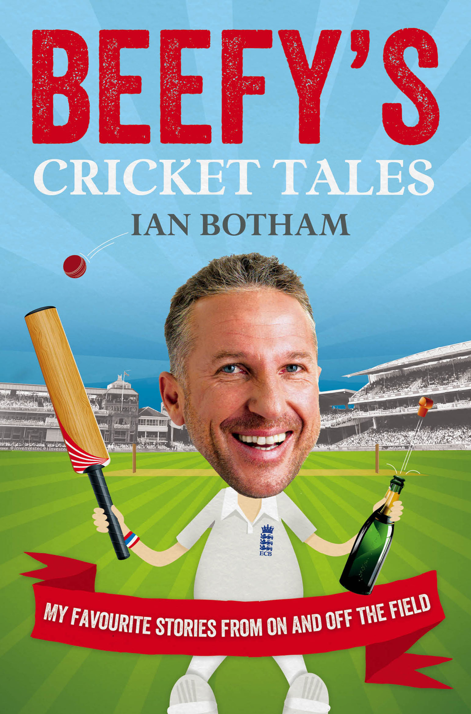 Beefy S Cricket Tales Book By Ian Botham Official border=