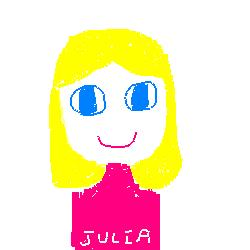 Author Doodle by Julia DeVillers
