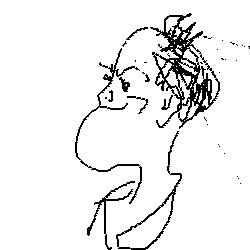Author Doodle by John Lithgow