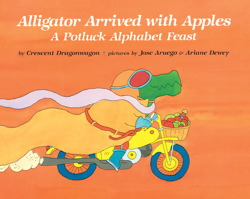 Alligator Arrived With Apples