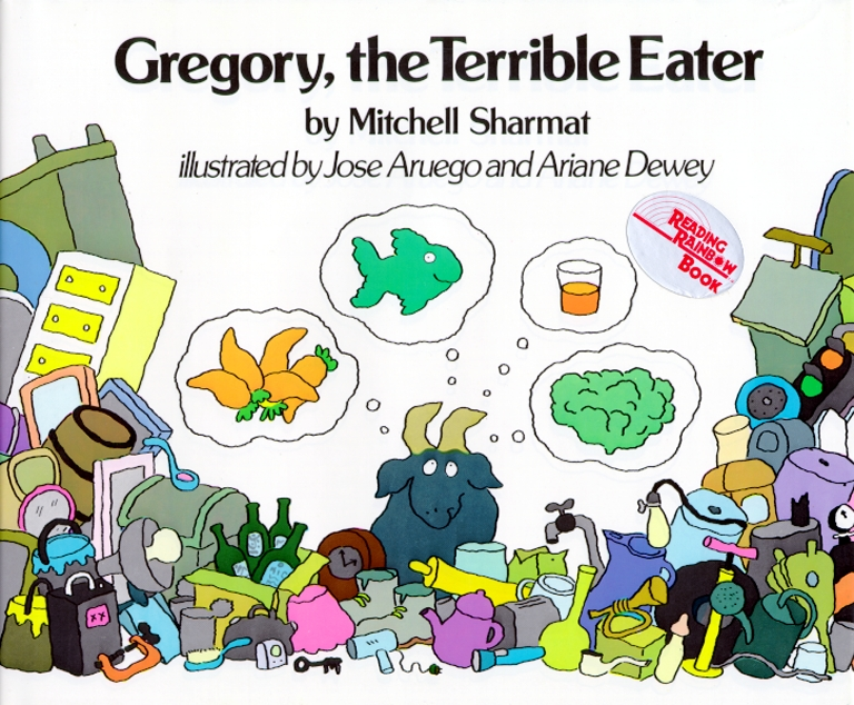 gregory the terrible eater book by mitchell sharmat jose aruego