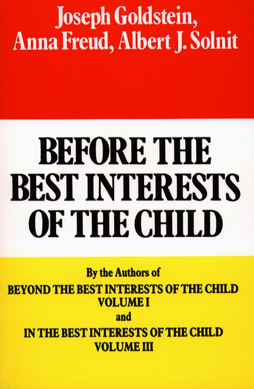 Before the best interests of the child book by joseph goldstein cvr9780029123904 9780029123904 hr before the best fandeluxe Gallery