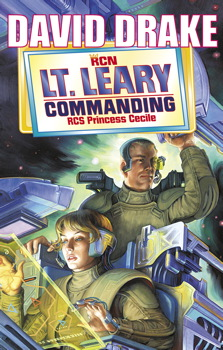 Lt Leary, Commanding