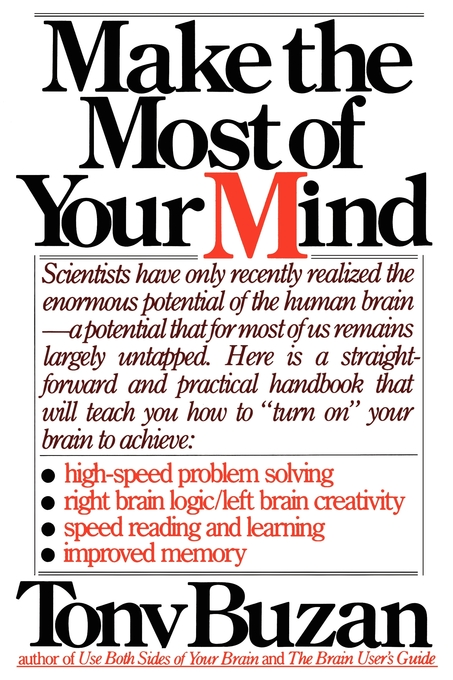 Make the Most of Your Mind   Book by Tony Buzan   Official