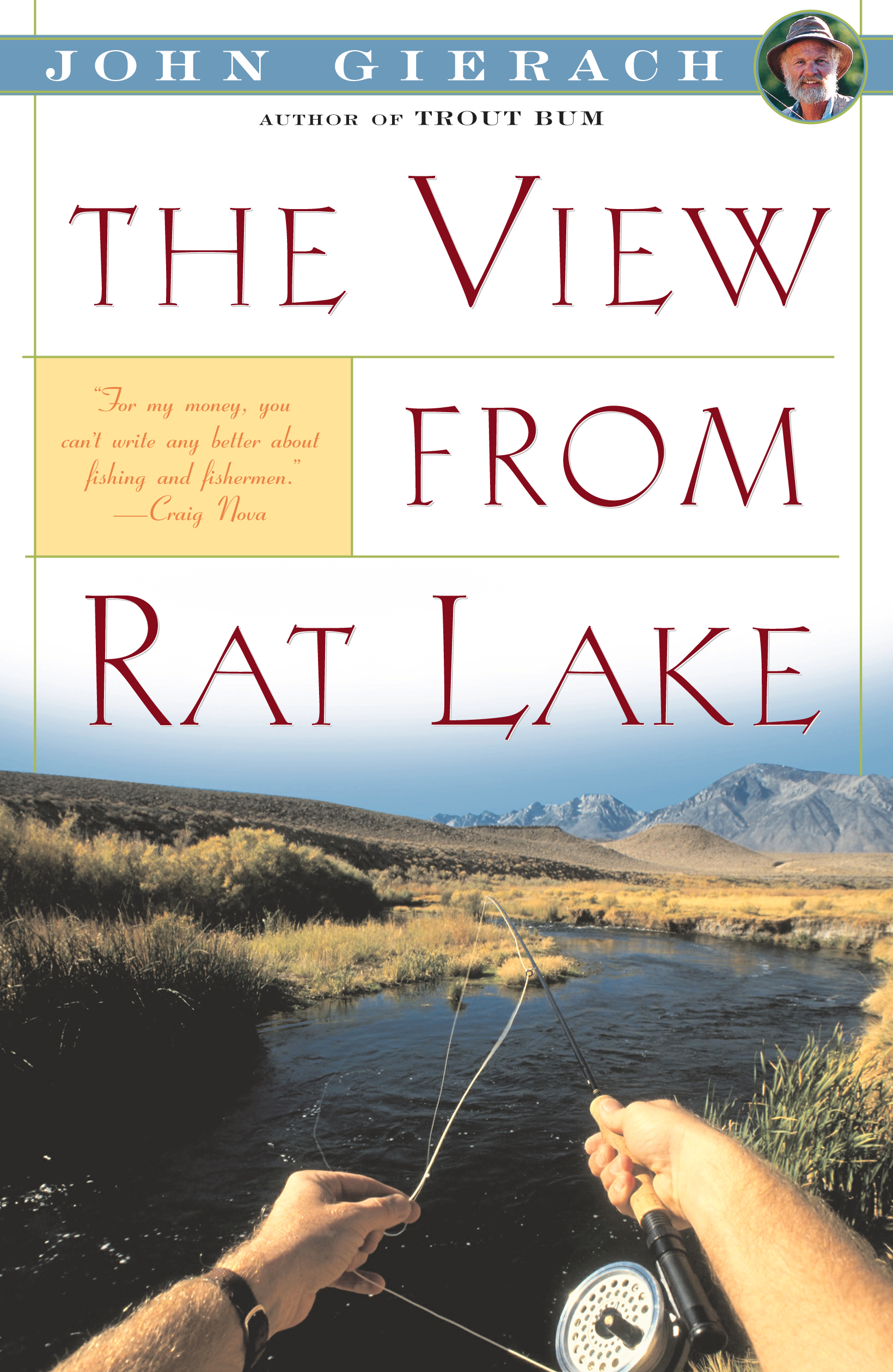 View From Rat Lake Book By John Gierach Official