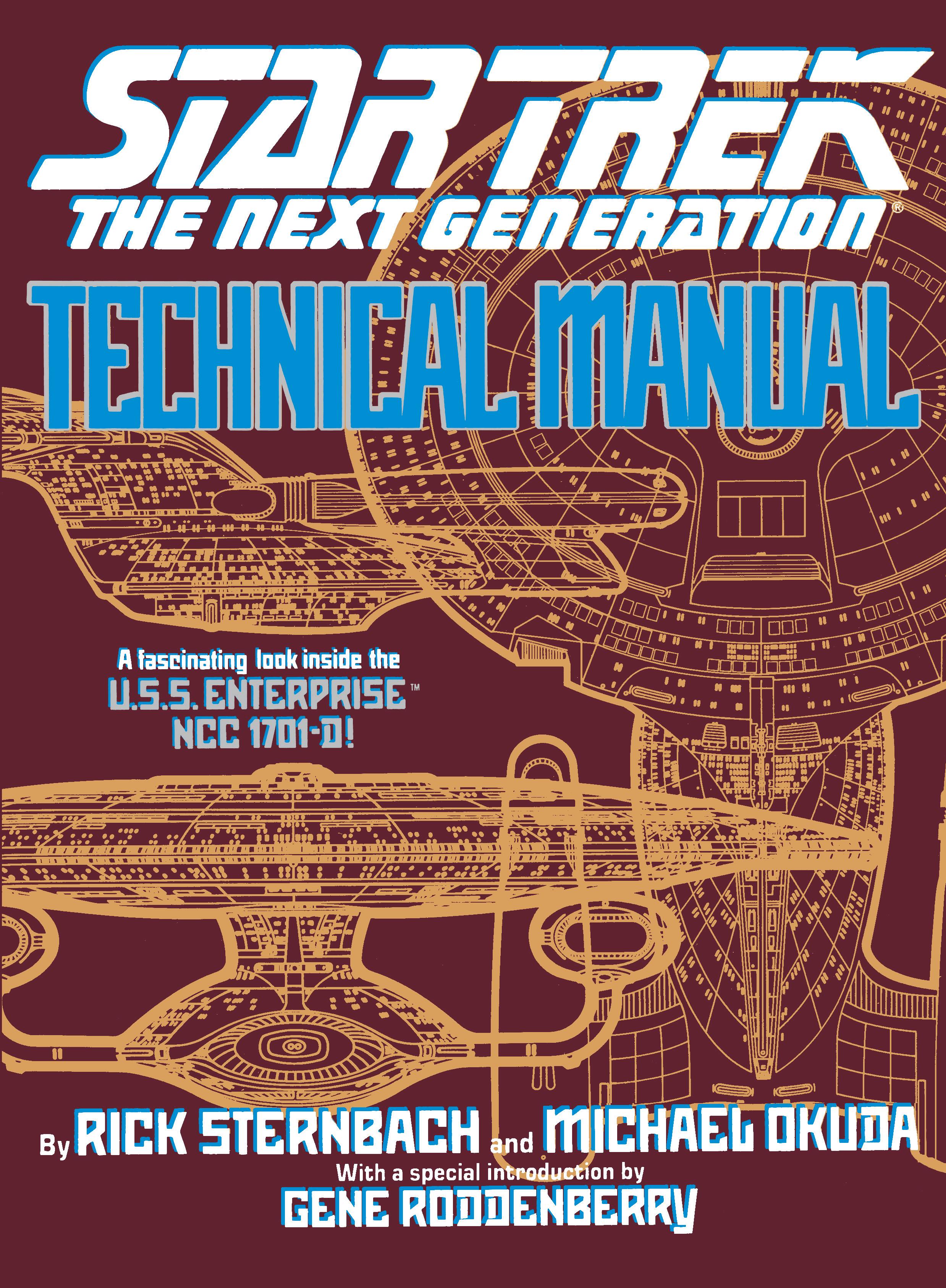 technical manual book by rick sternbach michael okuda official rh simonandschuster com Tech Comments Manuel Tech Career Center