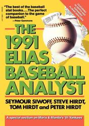 Elias Baseball Analyst, 1991