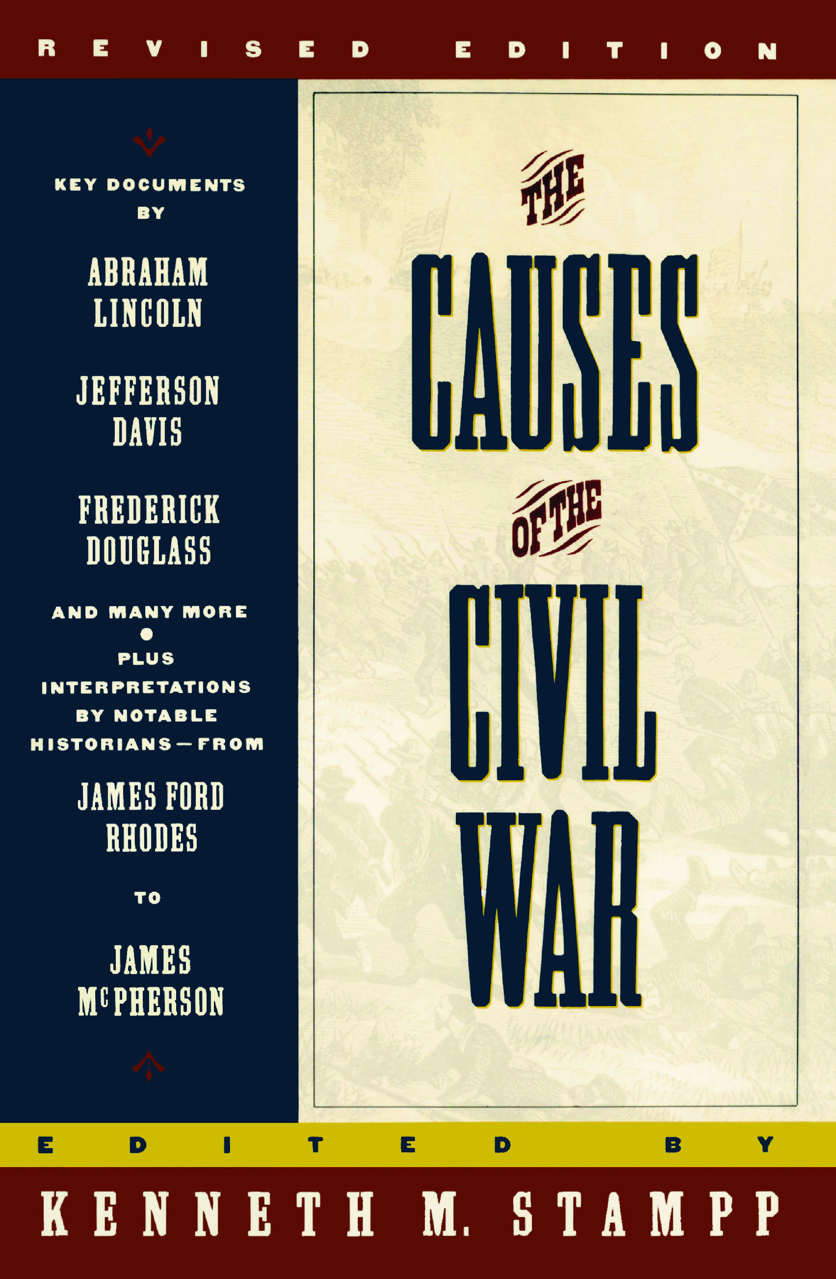 the causes of the civil war book by kenneth stampp official  cvr9780671751555 9780671751555 hr the causes of the civil war