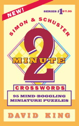 SIMON AND SCHUSTER'S TWO-MINUTE CROSSWORDS Vol. 1