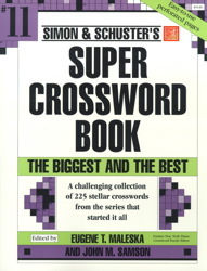 Simon & Schuster Super Crossword Book #11