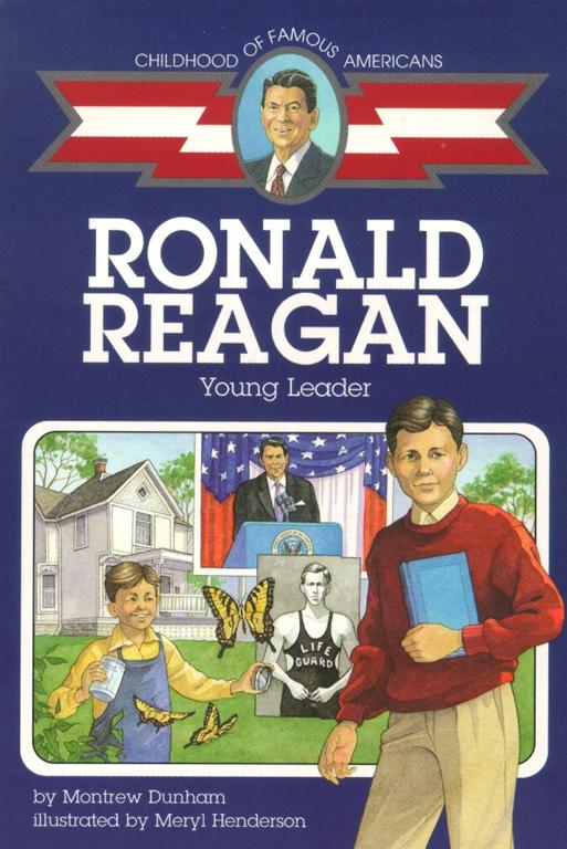 Ronald Reagan Book By Montrew Dunham Meryl Henderson Official