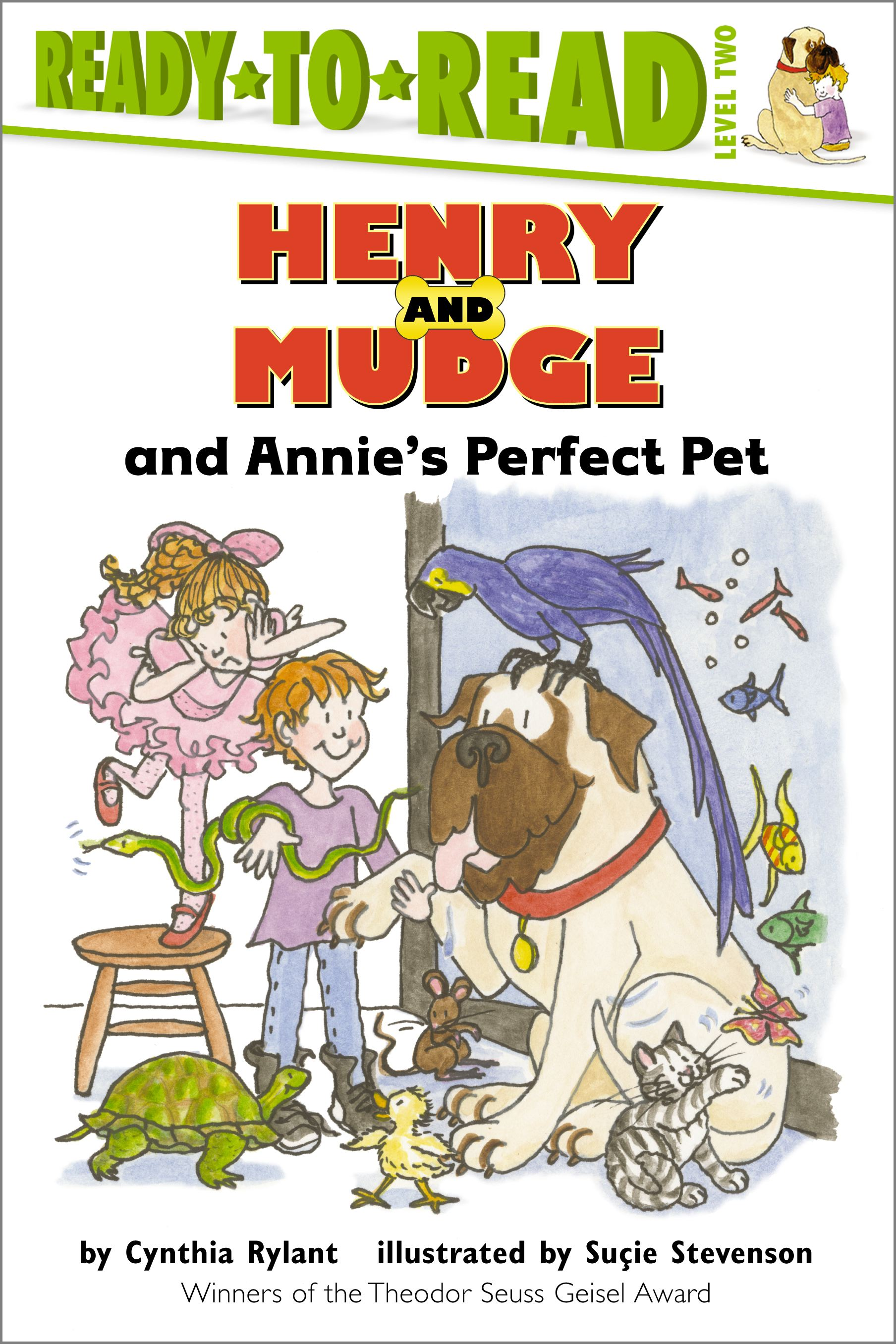 Book Cover Image (jpg): Henry and Mudge and Annie's Perfect Pet