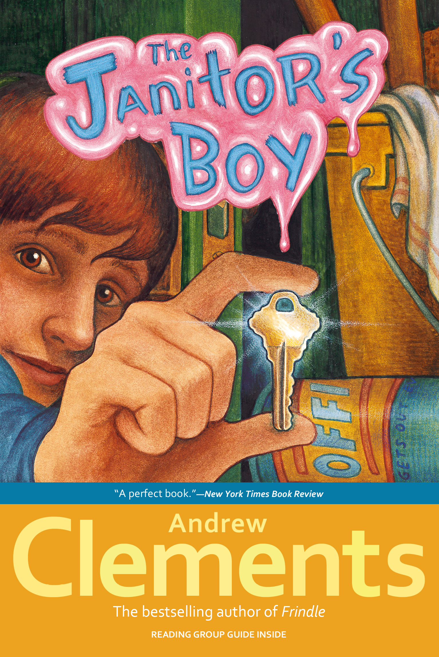 The janitors boy book by andrew clements brian selznick cvr9780689835858 9780689835858 hr the janitors boy publicscrutiny Gallery