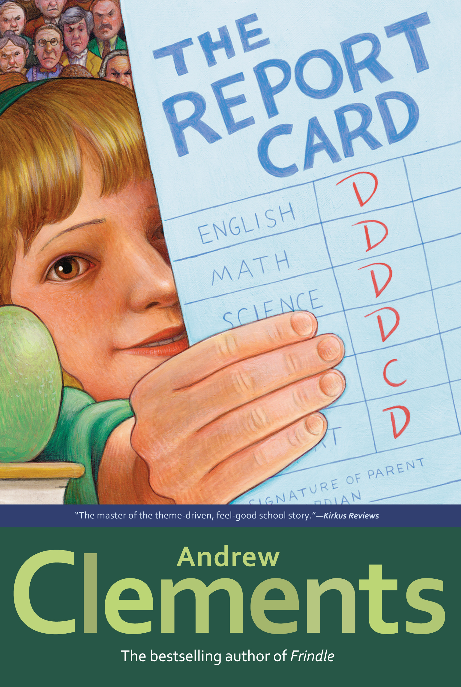 Book Cover Image (jpg): The Report Card