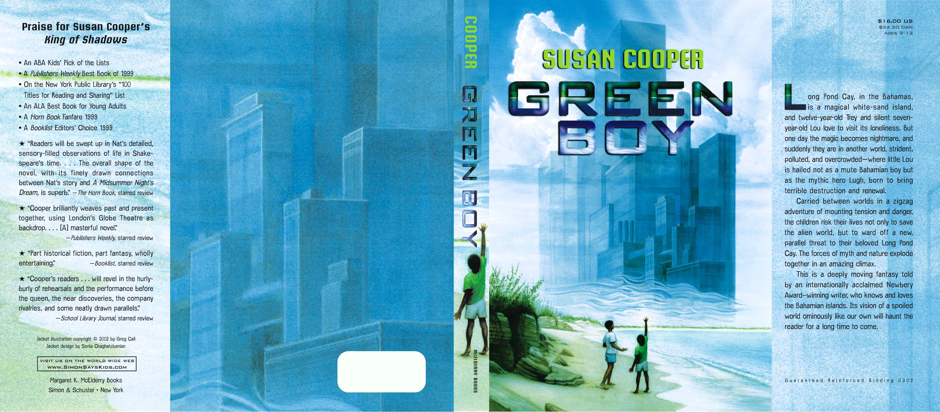Green Boy | Book by Susan Cooper | Official Publisher Page | Simon