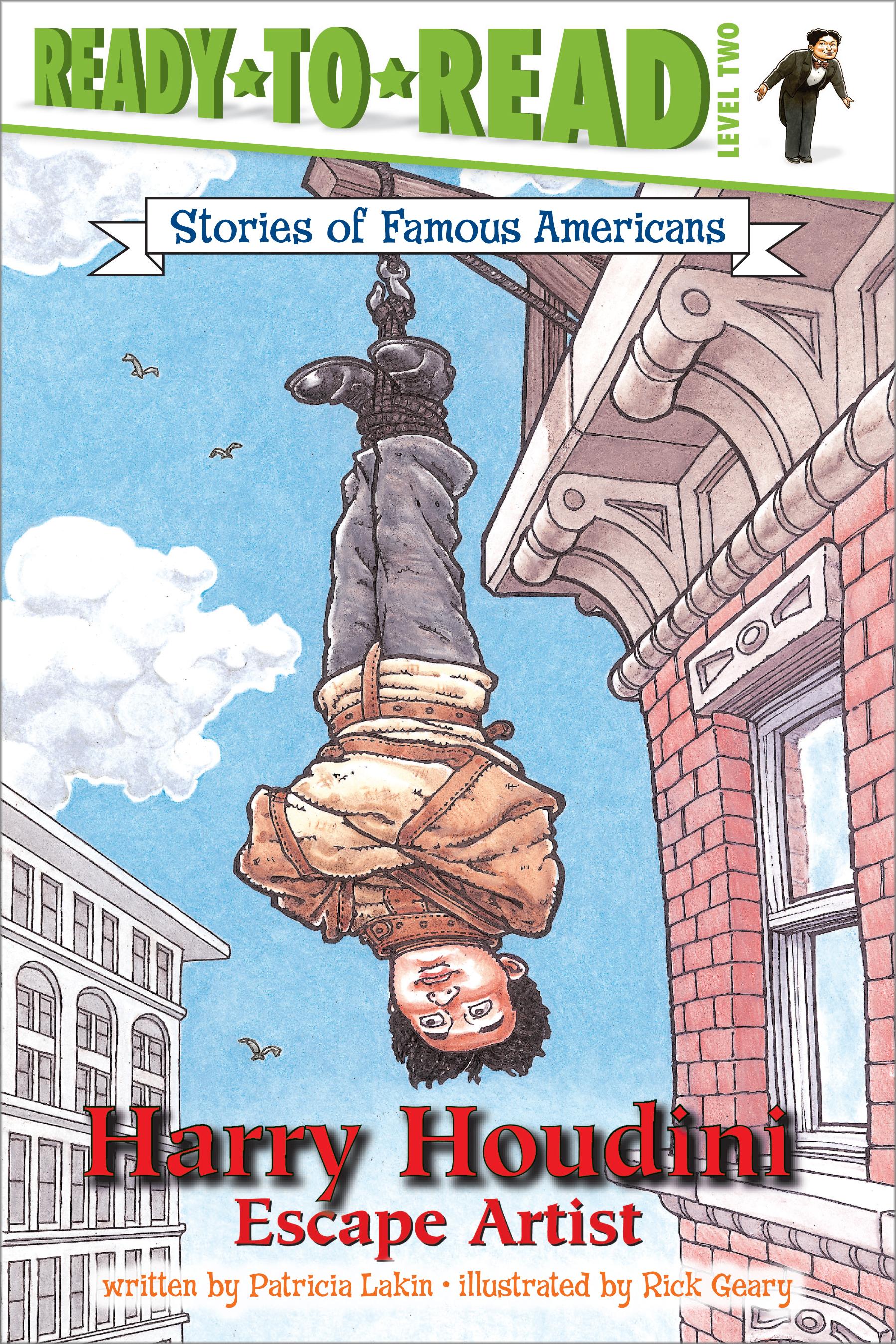 Harry Houdini | Book by Patricia Lakin, Rick Geary