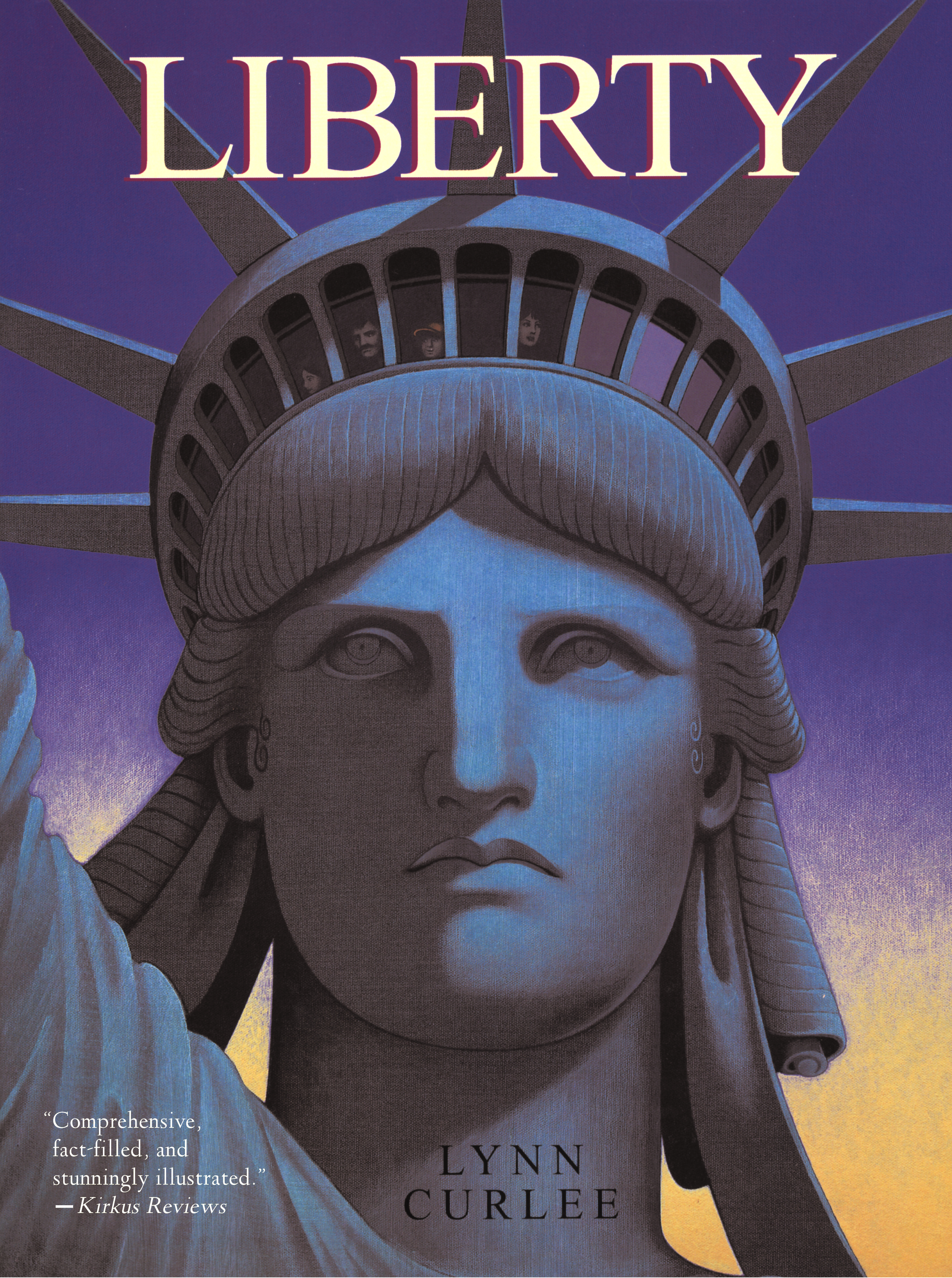 Liberty Book By Lynn Curlee Official Publisher Page Simon Schuster