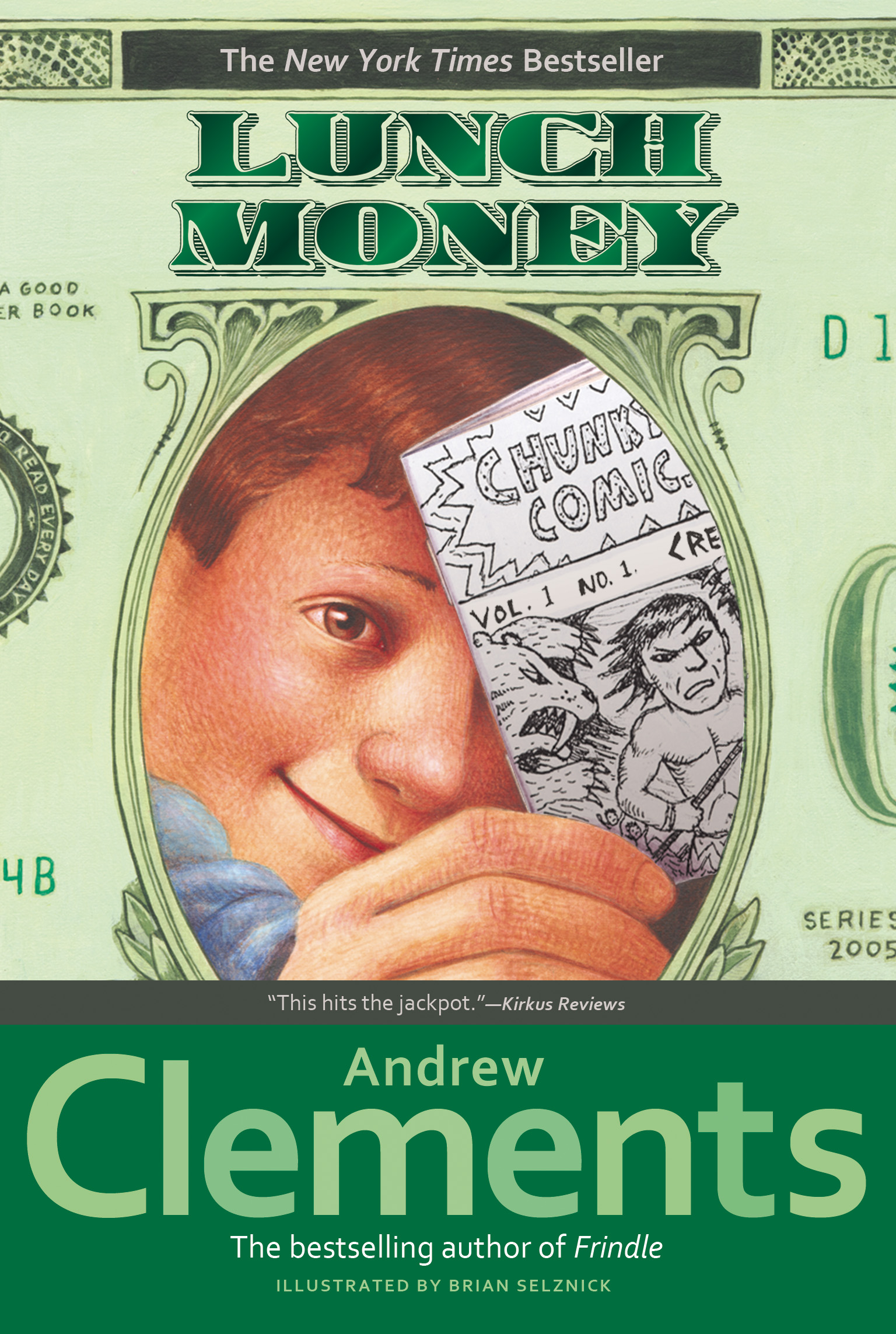 Lunch money book by andrew clements brian selznick official cvr9780689866852 9780689866852 hr fandeluxe Choice Image