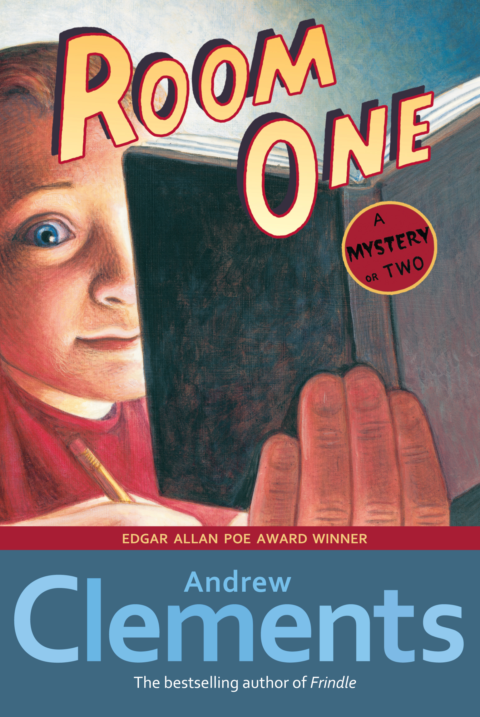 Room one book by andrew clements mark elliott official a mystery or two publicscrutiny Gallery