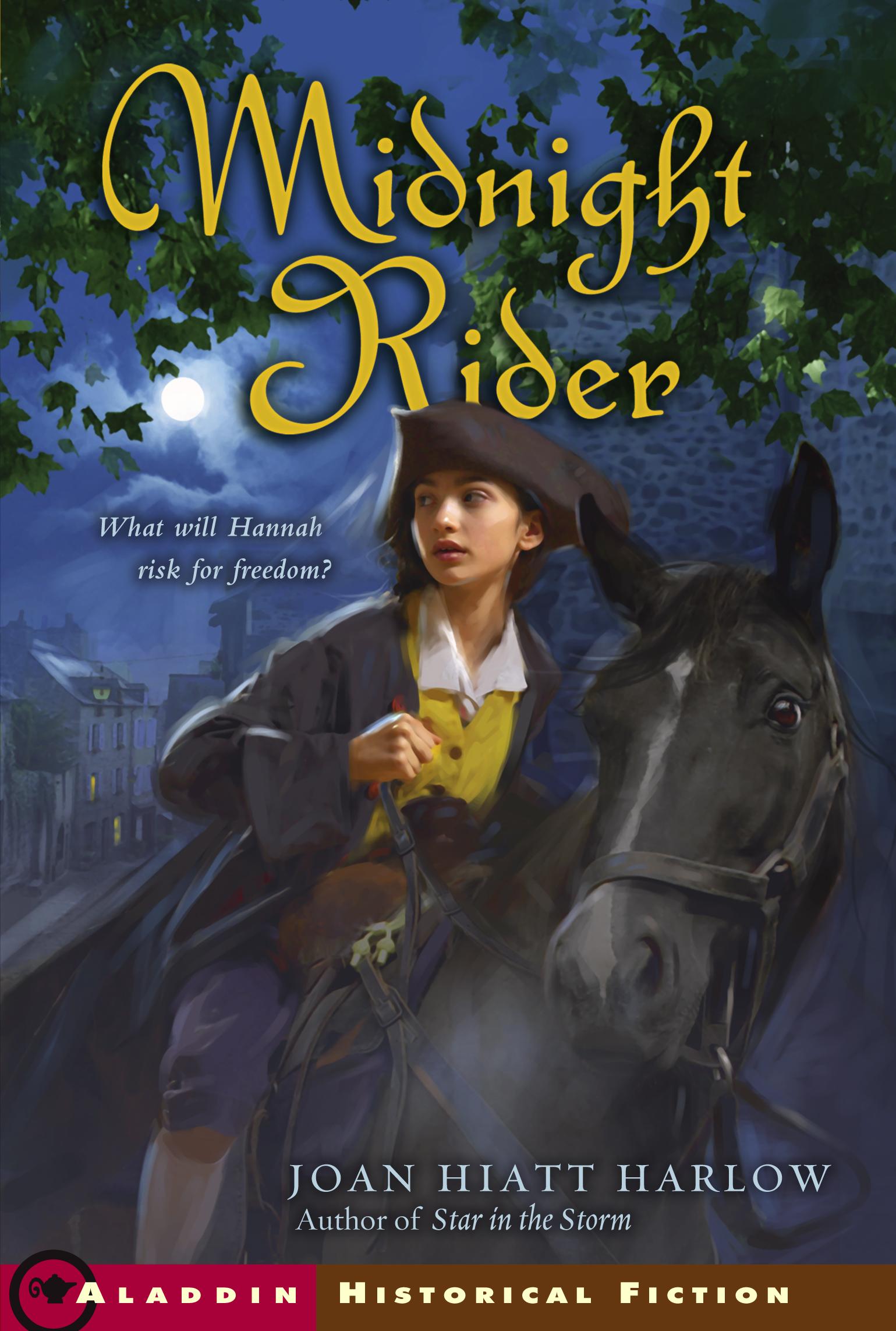 Midnight Rider | Book by Joan Hiatt Harlow | Official