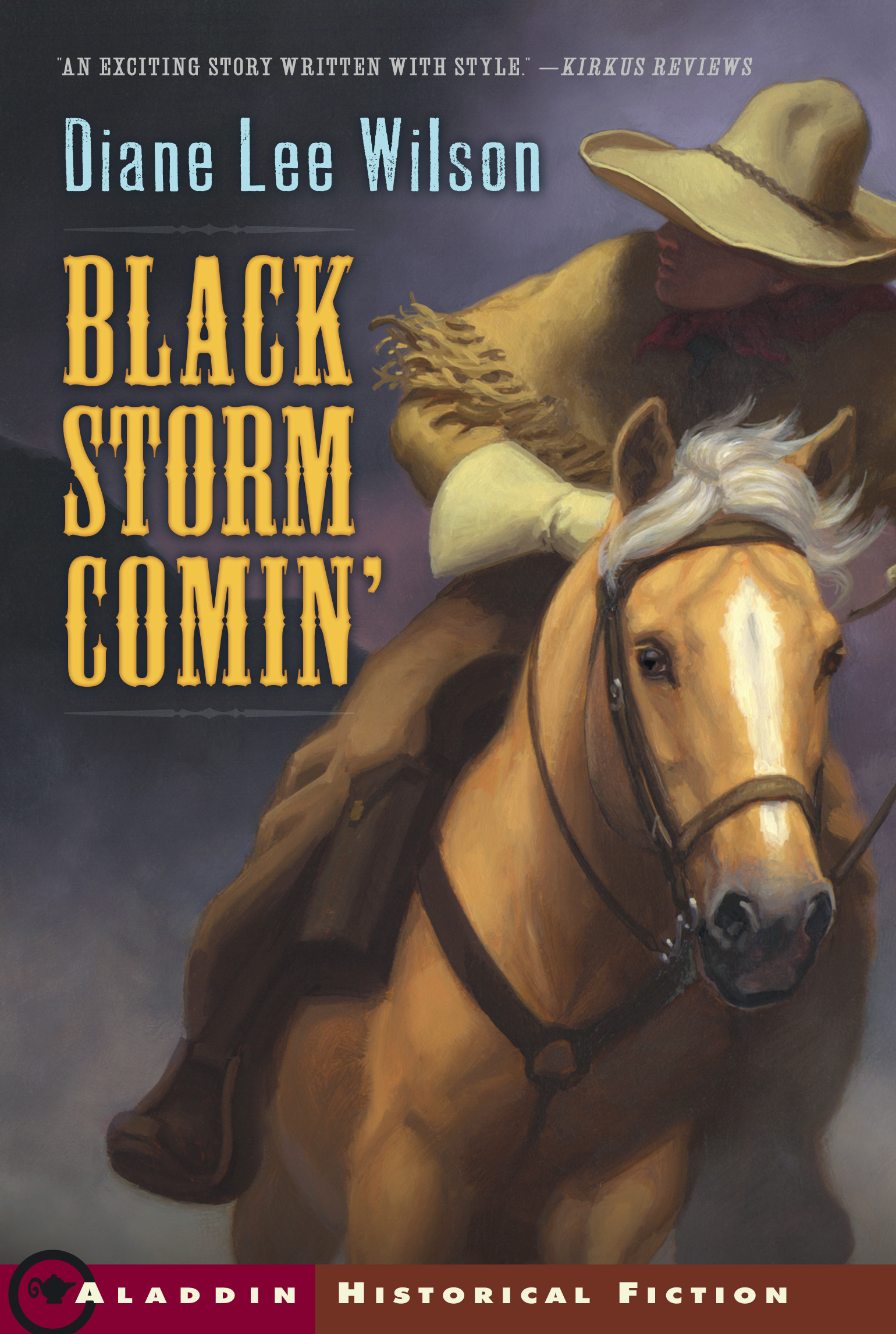Book Cover Image (jpg): Black Storm Comin'