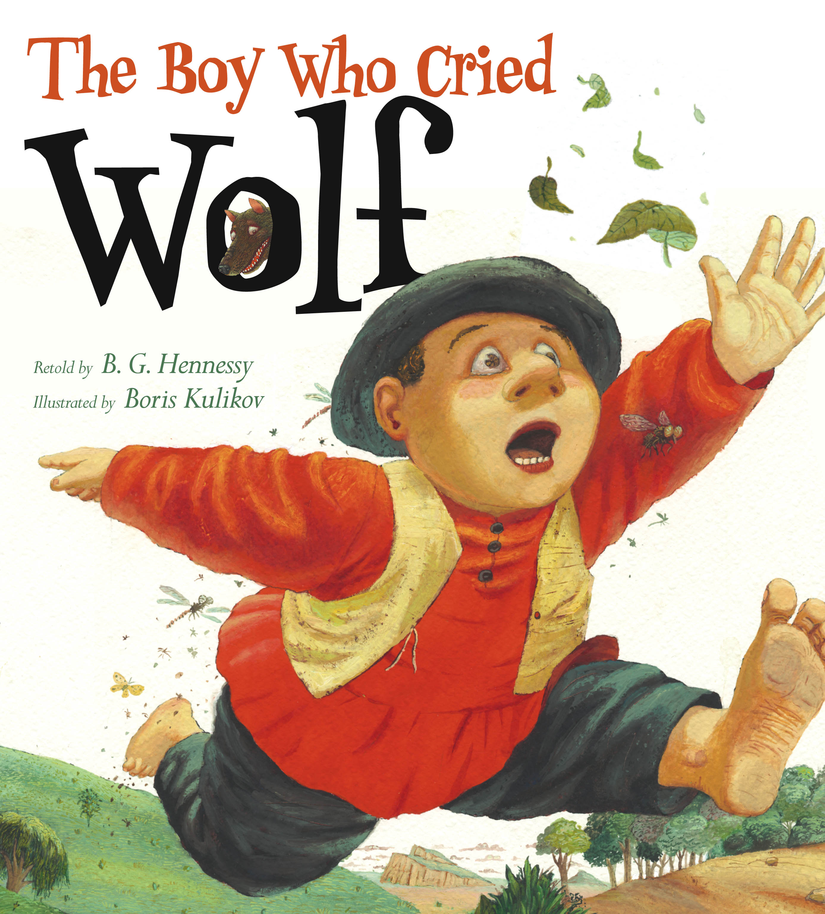 The Boy Who Cried Wolf | Book by B. G. Hennessy, Boris ...