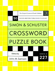 Simon and Schuster Crossword Puzzle Book #227