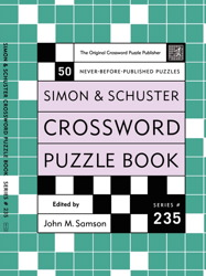 Simon and Schuster Crossword Puzzle Book #235