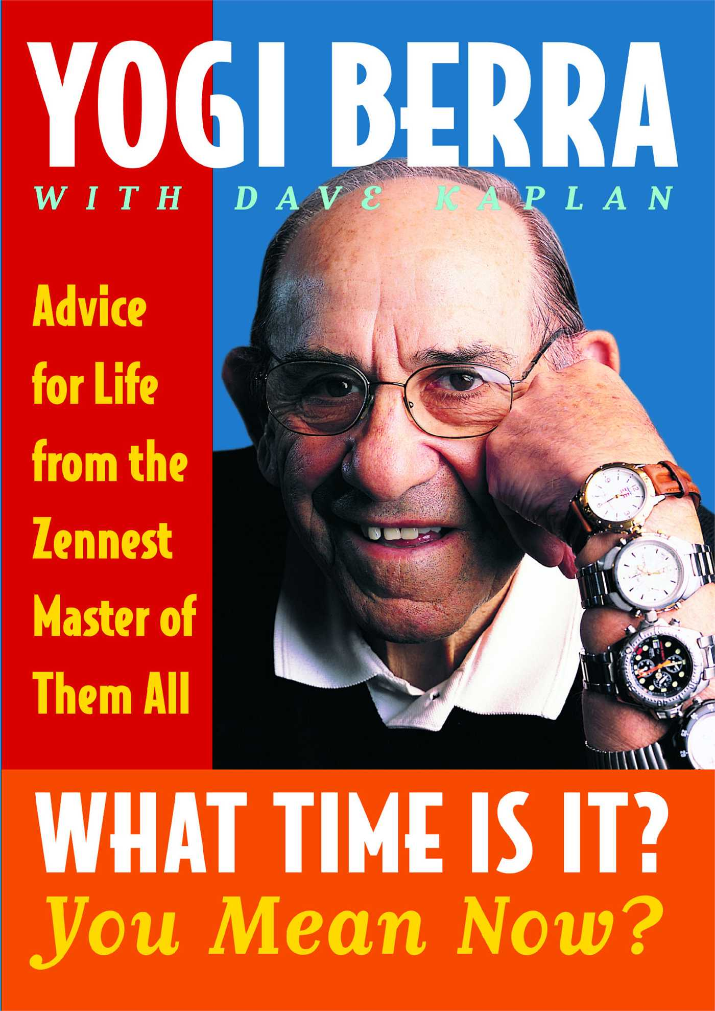 What time is it you mean now book by yogi berra dave kaplan cvr9780743244534 9780743244534 hr fandeluxe Images