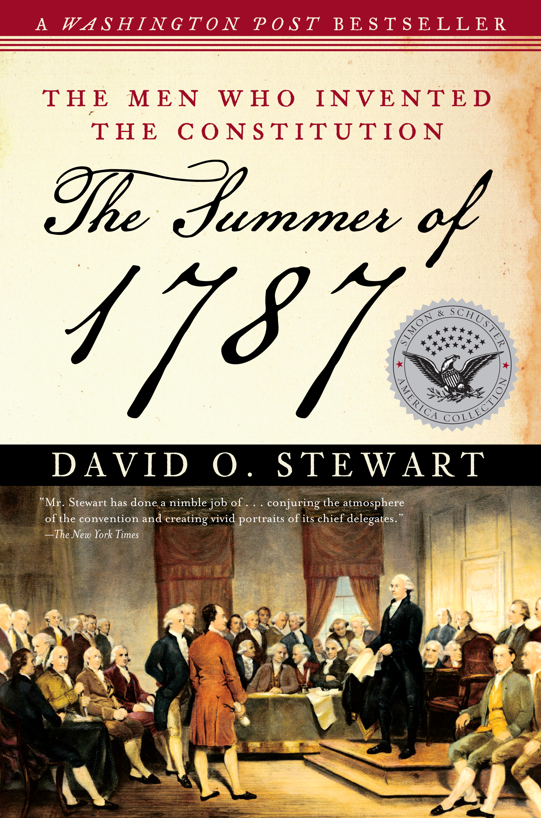 Book Cover Image (jpg): The Summer of 1787