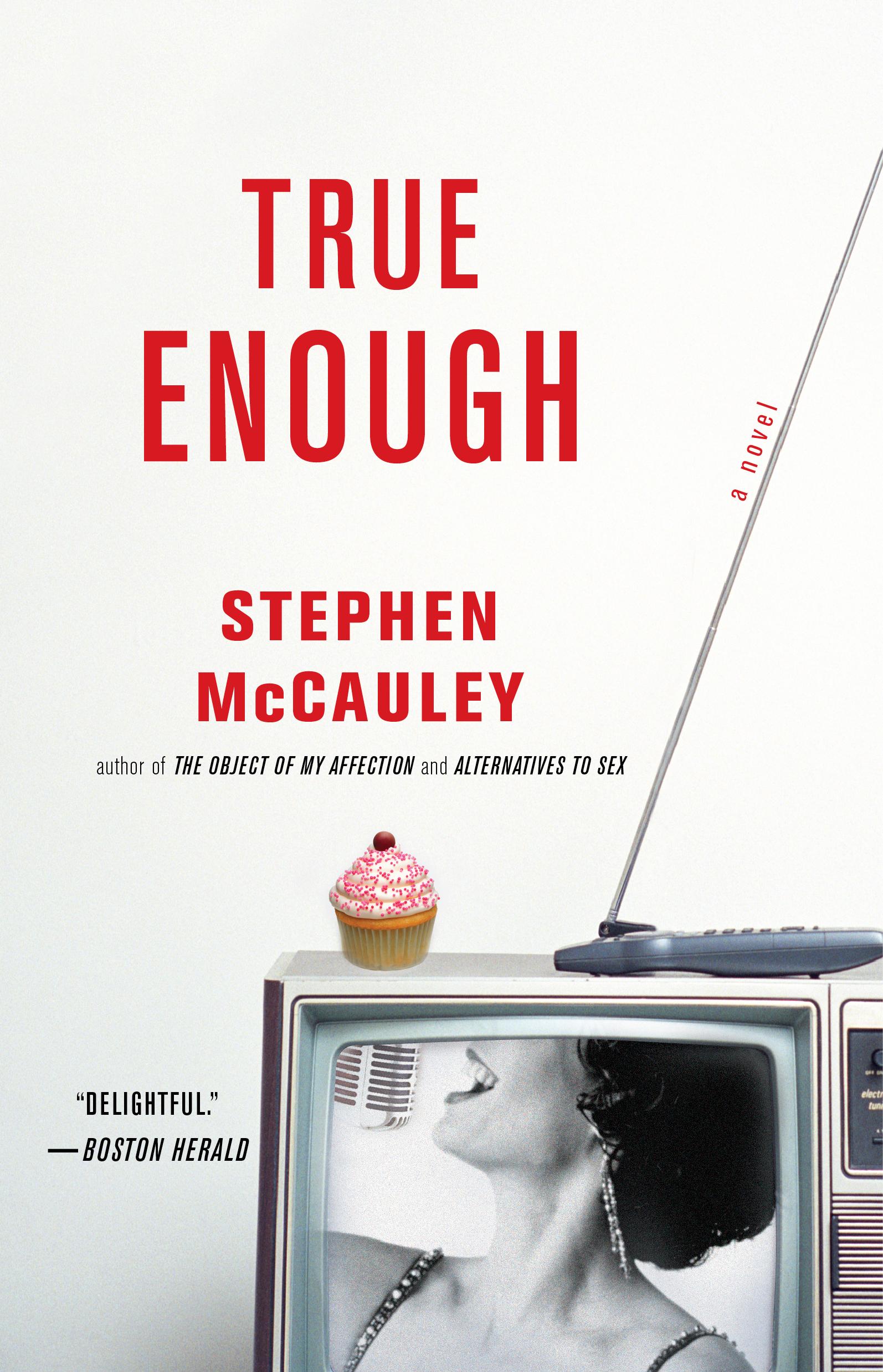 Book Cover Image (jpg): True Enough