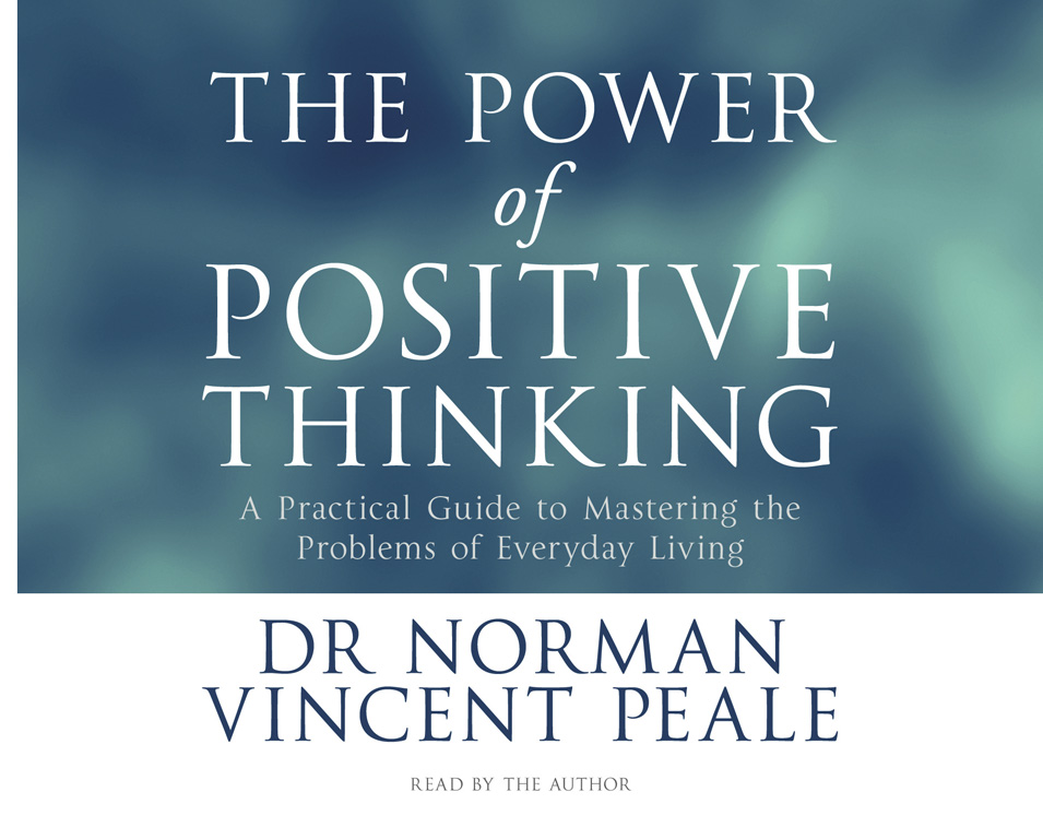 The Power Of Positive Thinking Audiobook On Cd By Norman Vincent  The Power Of Positive Thinking