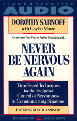 Never Be Nervous Again
