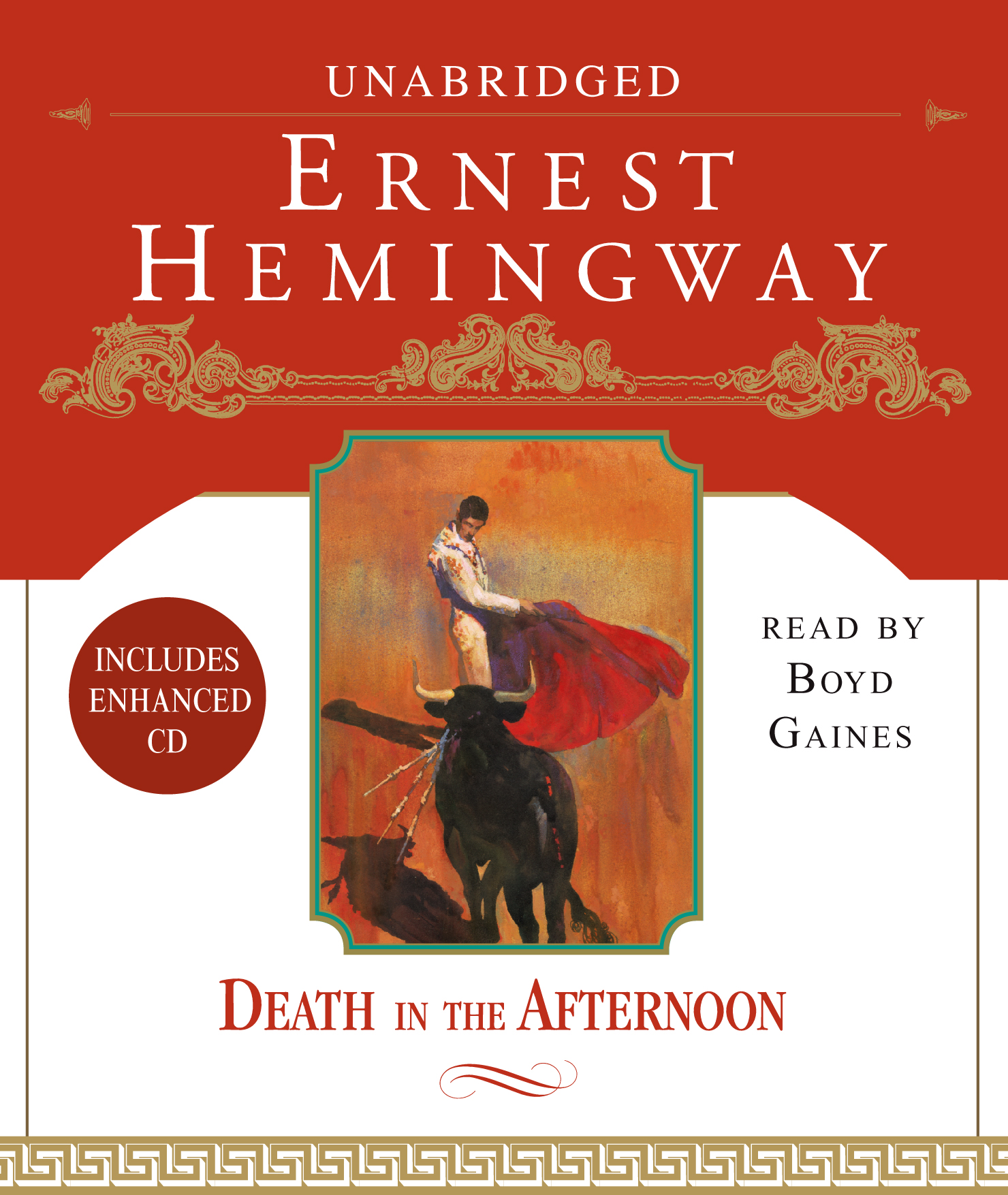 Death In The Afternoon Audiobook On Cd By Ernest Hemingway
