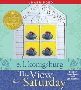 The View From Saturday Audiobook by E.L. Konigsburg, Jenna ...
