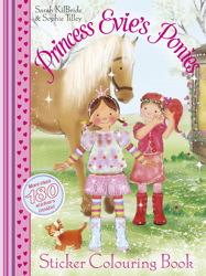 Princess Evie Sticker Colouring Book