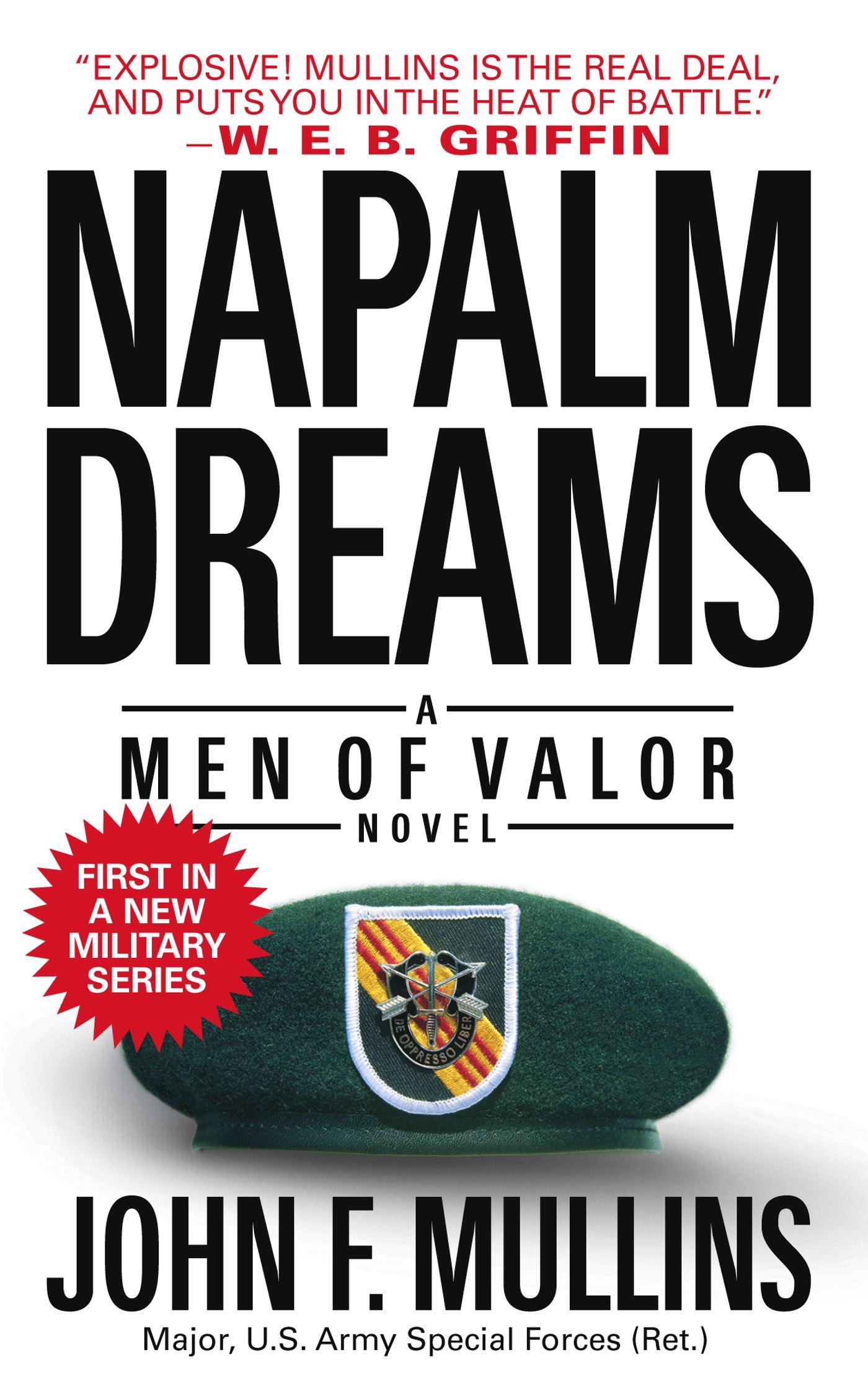 Book Cover Image (jpg): Napalm Dreams
