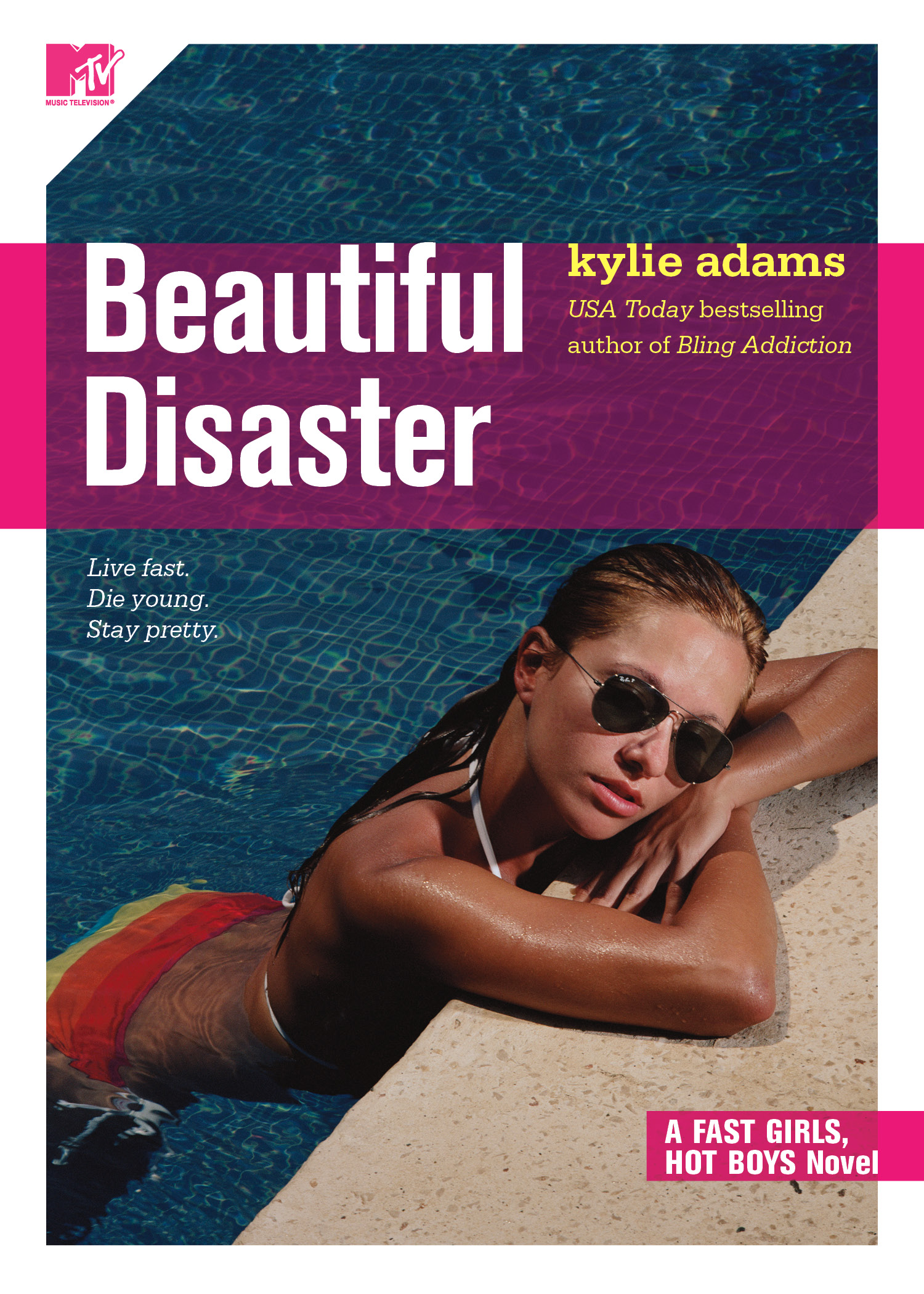 Beautiful Disaster Book Cover : Beautiful disaster book by kylie adams official