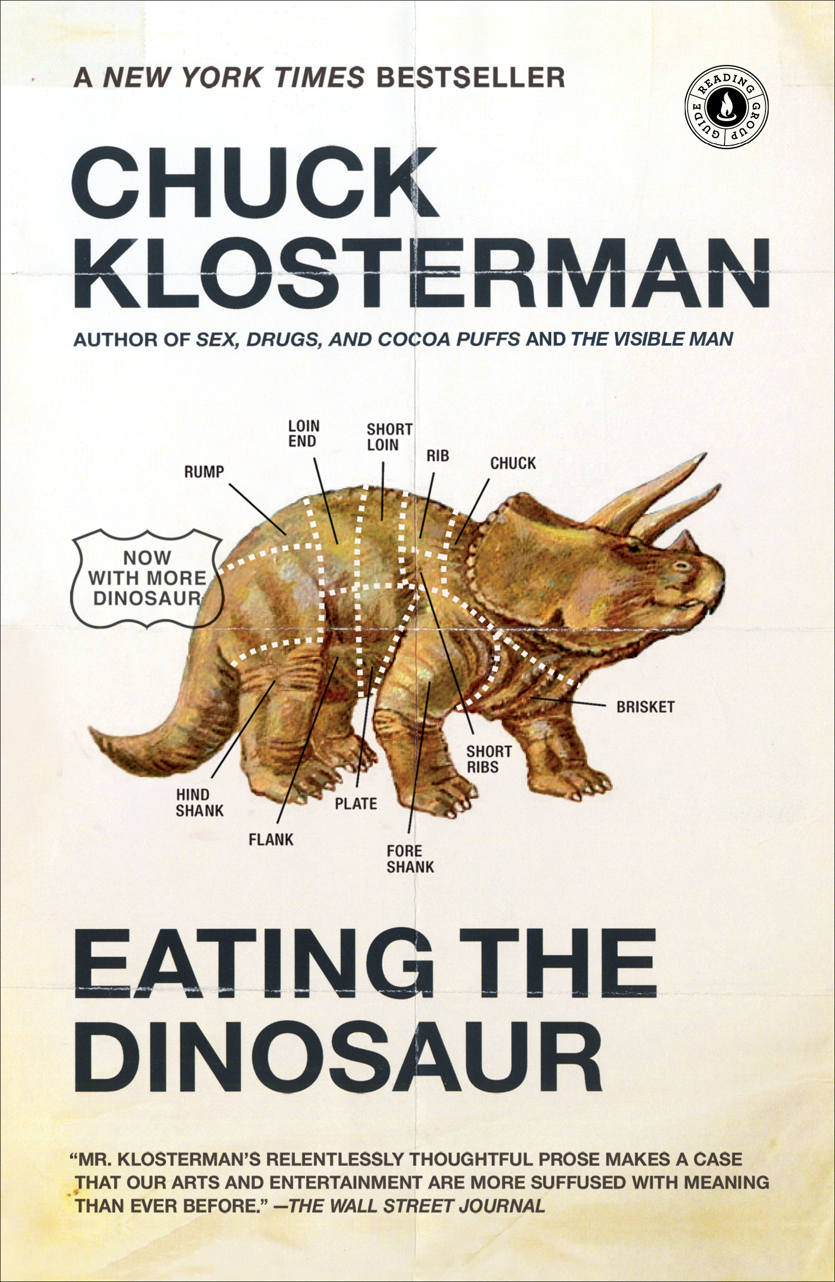 Eating the Dinosaur | Book by Chuck Klosterman | Official
