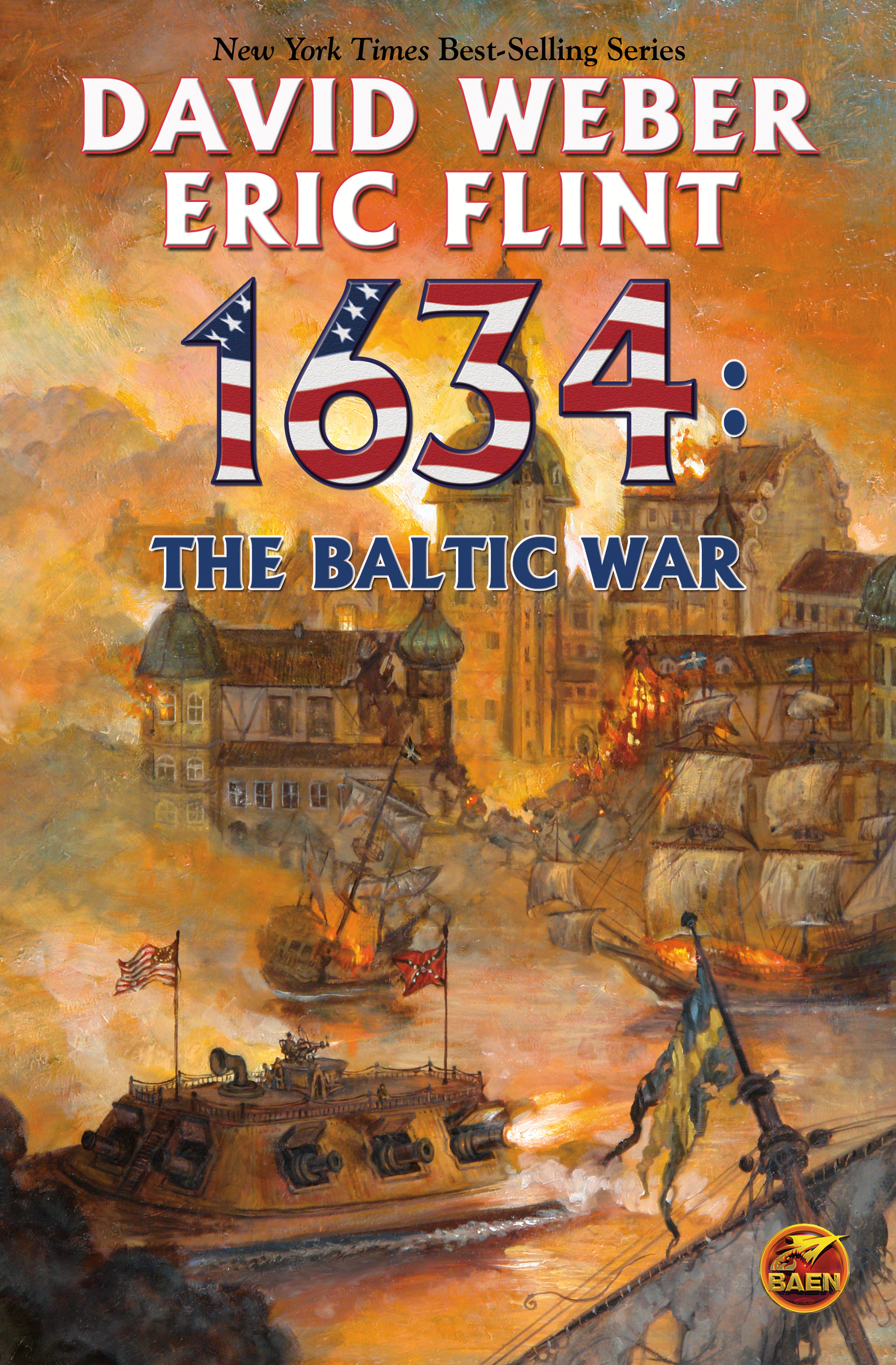 Book Cover Image (jpg): 1634: The Baltic War