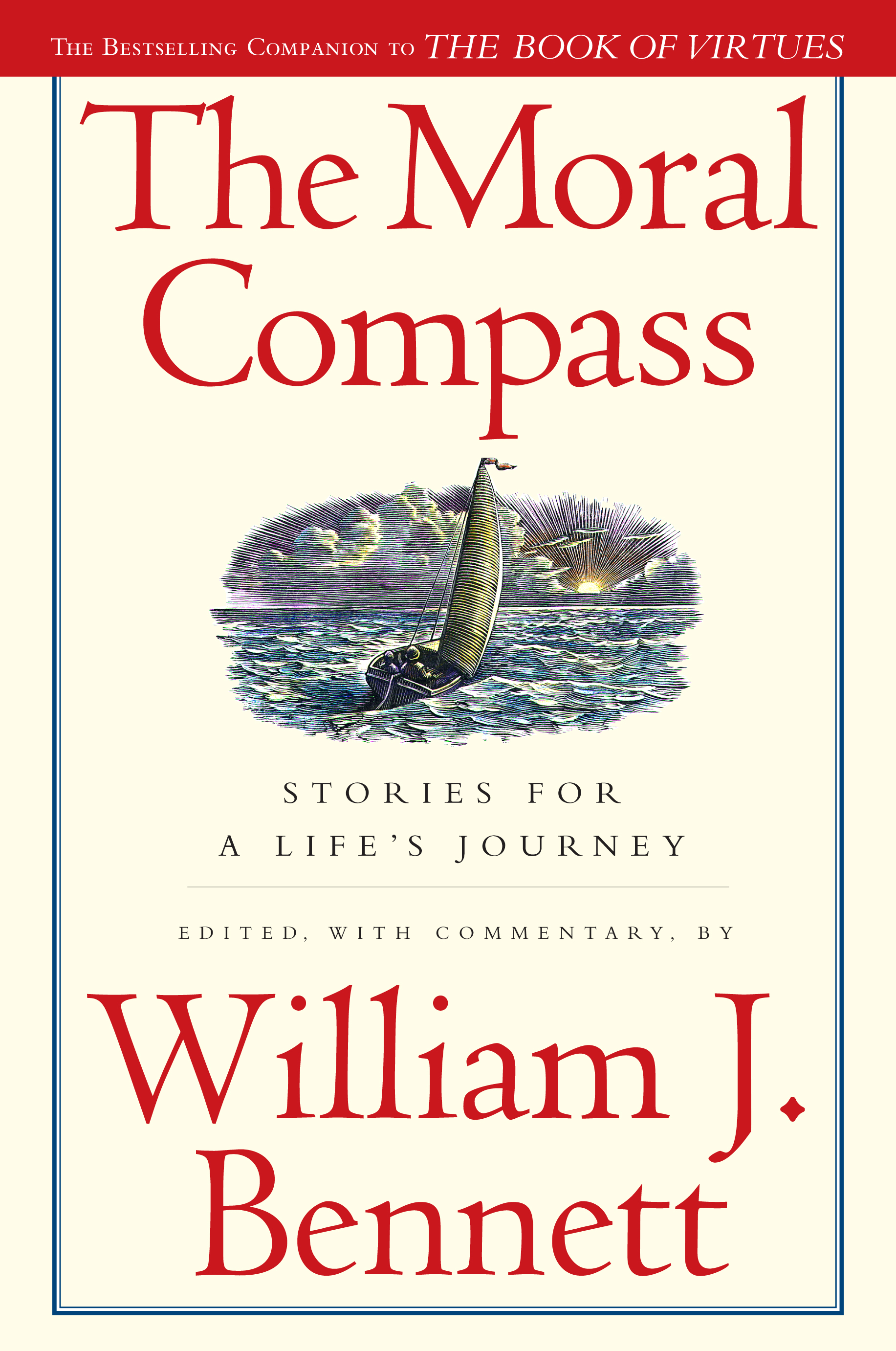 Book Cover Image (jpg): The Moral Compass