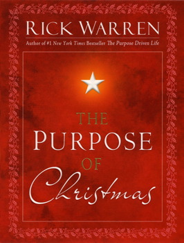 Image result for rick warren purpose of christmas