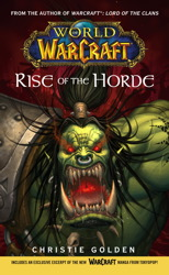 World of Warcraft: Rise of the Horde book cover