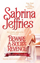 Sabrina Jeffries book cover