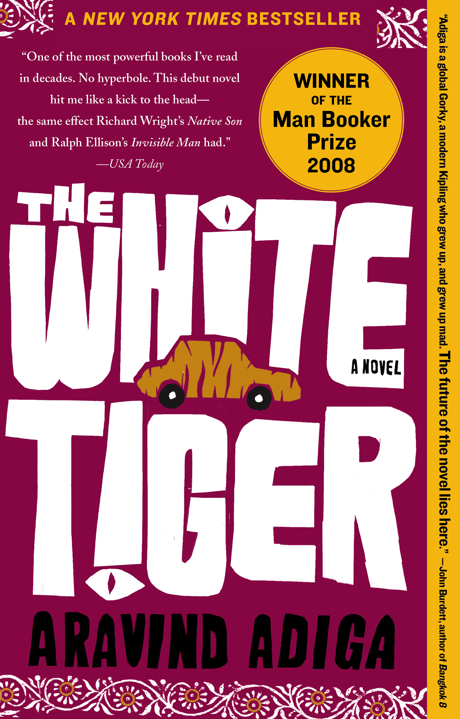 the white tiger book by aravind adiga official publisher page simon schuster canada. Black Bedroom Furniture Sets. Home Design Ideas