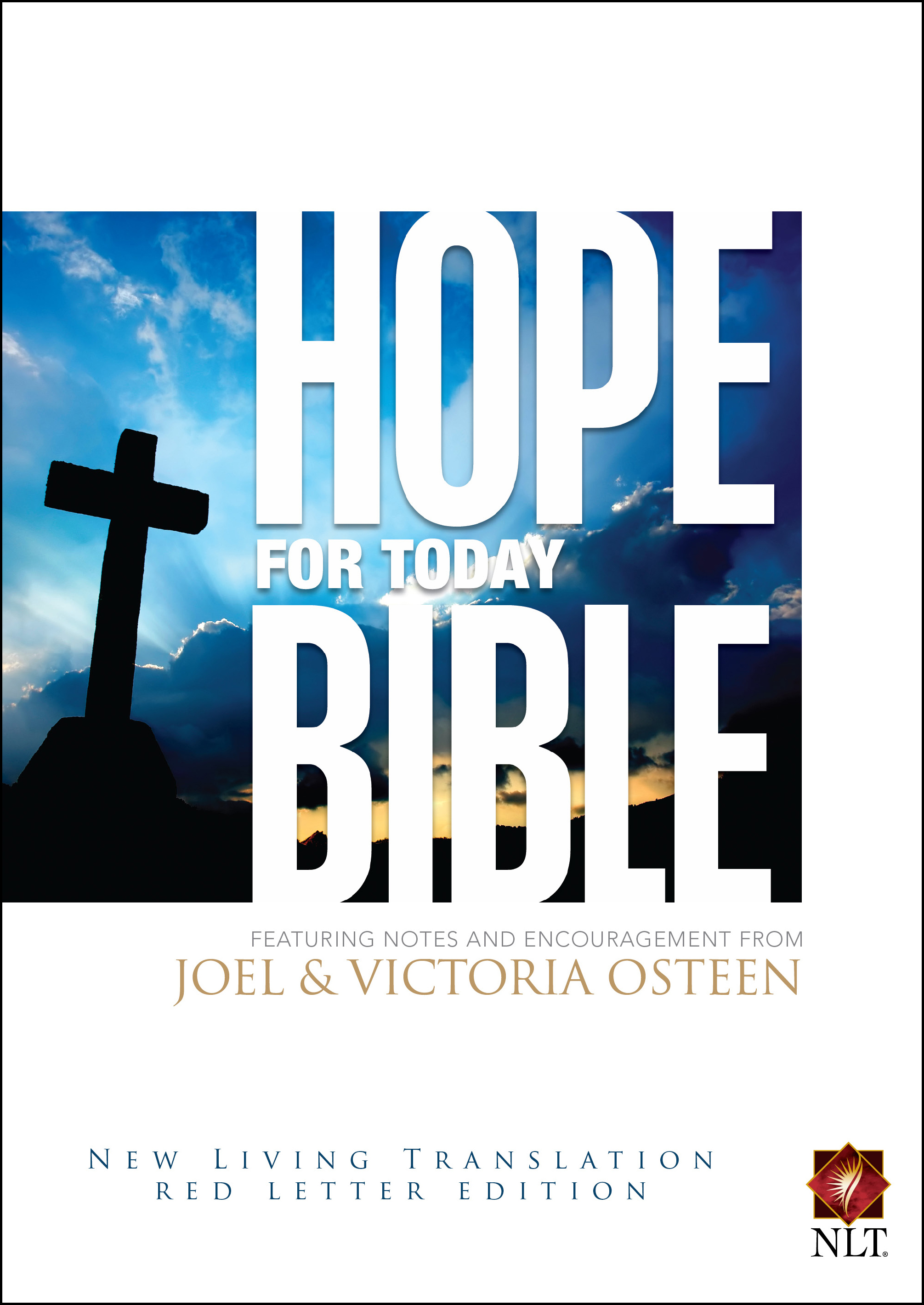 Hope for today bible book by joel osteen official publisher page cvr9781416598251 9781416598251 hr hope for today bible fandeluxe Images