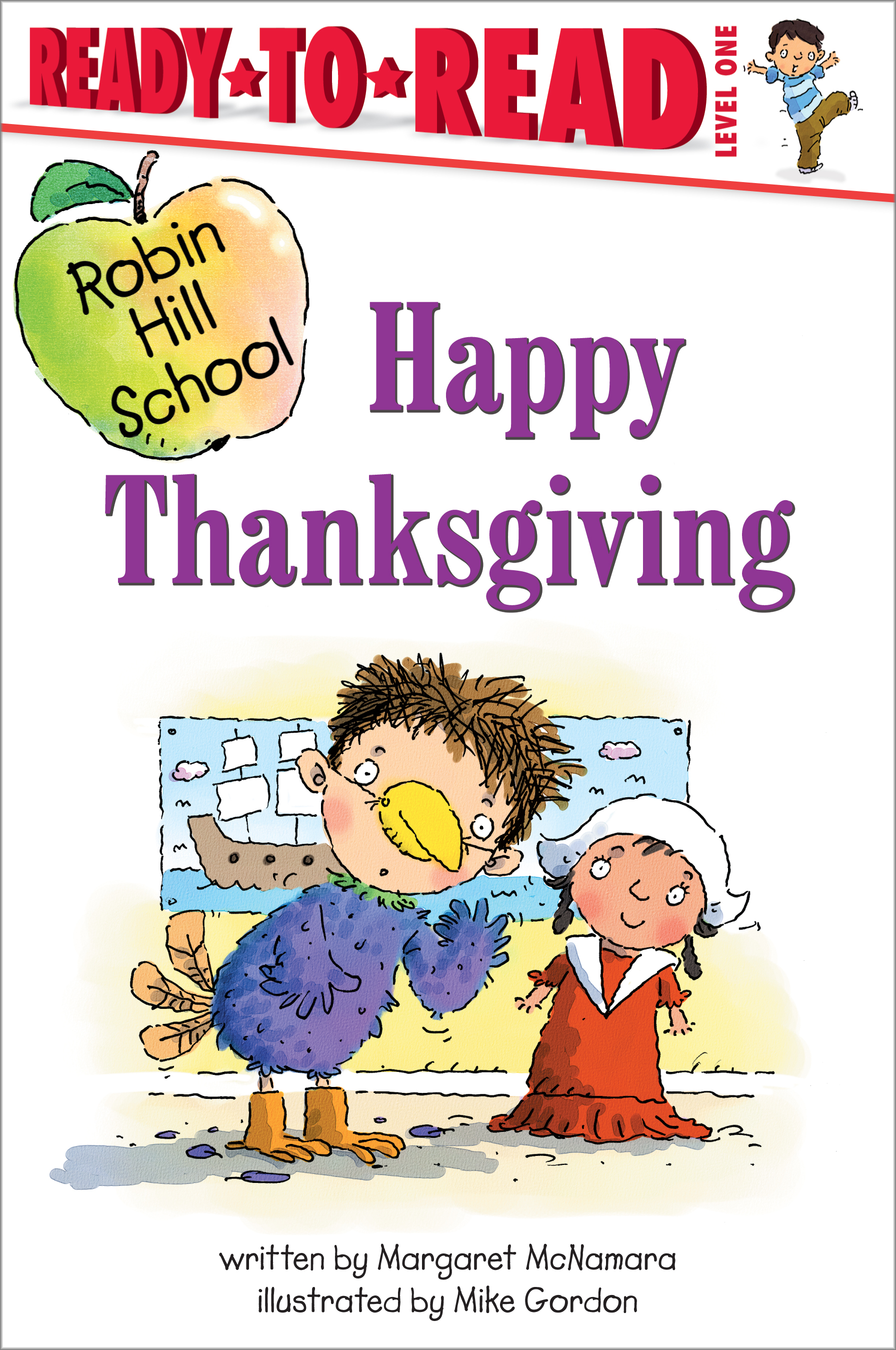Happy Thanksgiving Book By Margaret Mcnamara Mike border=